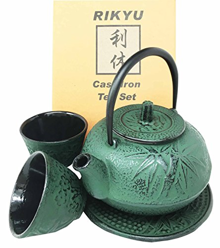 Price comparison for tea cast iron set - Imperial dragon cast iron teapot ...