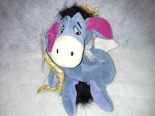 Valentines Day Beanie Baby - Walt Disney Valentines Day Cupid Eeyore Plush Beanie Bag