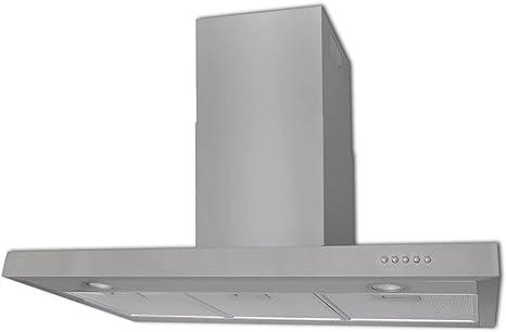 tuduo campana extractora plana inoxidable 900 mm Campanas extractoras Campanas cocina: Amazon.es: Grandes electrodomésticos