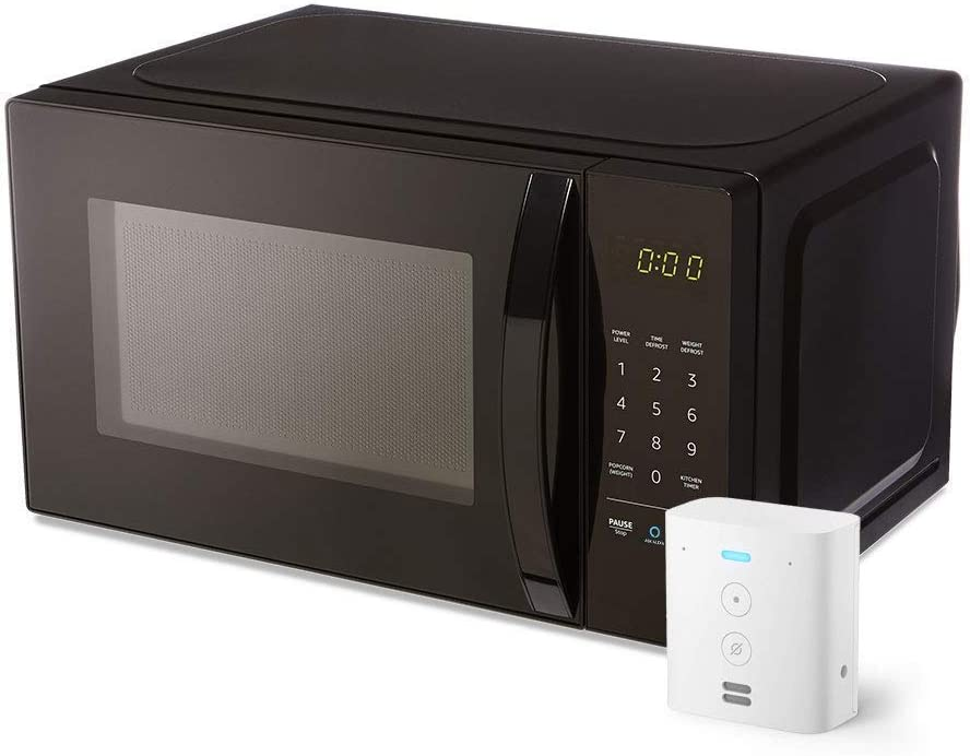 AmazonBasics Microwave with Echo Flex