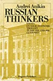 img - for Russian thinkers: Essays on socio-economic thought in the 18th and 19th centuries book / textbook / text book