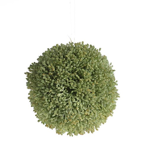 Factory Direct Craft Pair of Artificial Greenery Kissing Balls for Event Decor, Garden Embellishing and Crafting by Factory Direct Craft (Image #3)