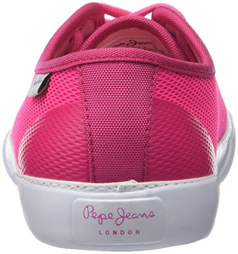 Sneakers Pink Baker Fille Pepe disco Mesh Rose S Basses Jeans vnTOT7
