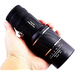 Monocular Telescope, 10X40 Dual Focus, Prism Film Optics,Waterproof, Monocular Scope for Birdwatching/ Hunting/ Camping/ Hiking / Golf/ Concert/ Surveillance