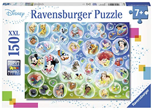 Ravensburger 10053 Disney Pixar Bubbles - 150 Piece Jigsaw Puzzle for Kids - Every Piece is Unique, Pieces Fit Together Perfectly (Ravensburger Disney Puzzle)