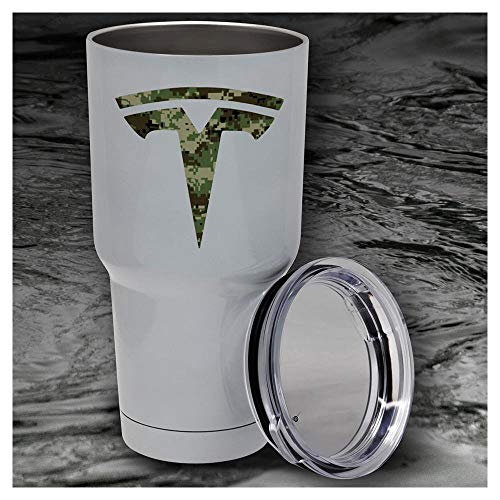 Price comparison product image Tesla Logo'd Insulated Water Cup (Camo)