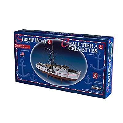 Lindberg 1/60 Scale Shrimp Boat: Toys & Games