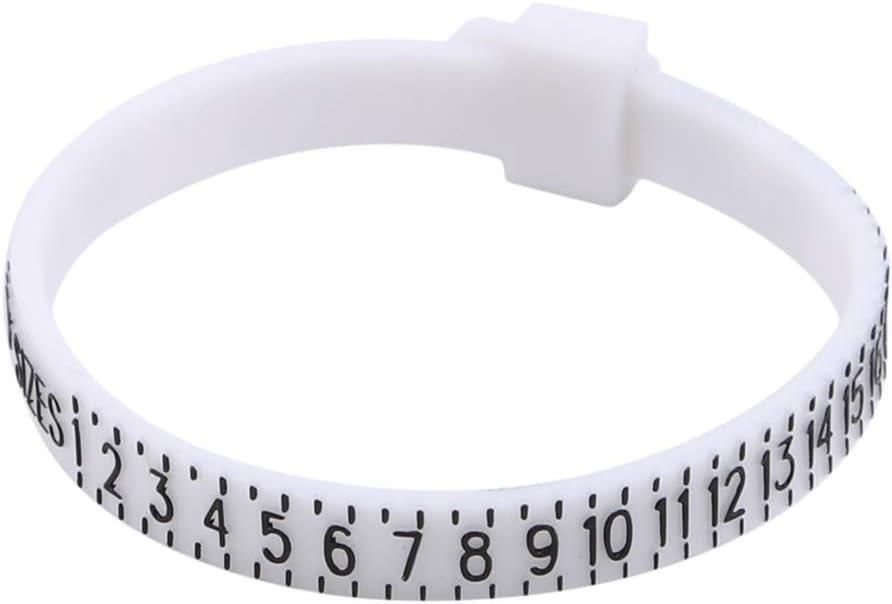 Sperrins Outil de mesure de doigt hommes et enfants//Mesurez la taille de votre bague Jauge de taille de bague pour femmes
