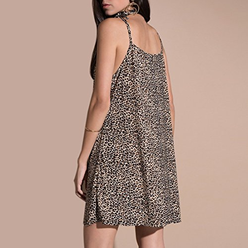 Print Night Photo Tank Ai Club Moichien Dress Leopard Mini Dress Sexy Color Tunic Sling 1xxRAnpcaw