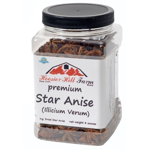 Hoosier Hill Farm Whole Select Anise Star 8 oz.