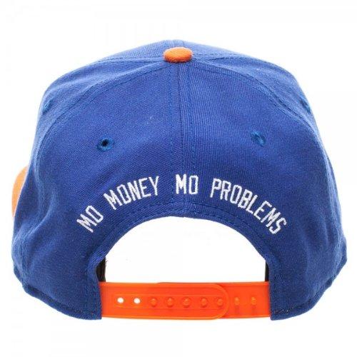 Knicks Notorious B.I.G. Biggie Smalls Snapback Hat Cap King of New York   Amazon.co.uk  Sports   Outdoors ba46d0546309