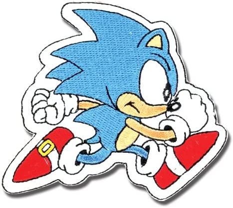Amazon Com Sonic The Hedgehog Classic Running Patch