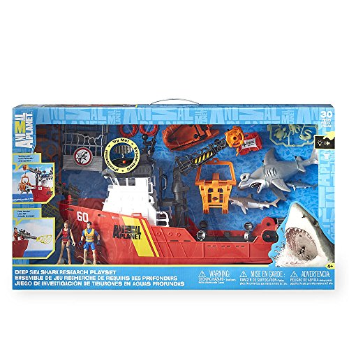 - Animal Planet Deep Sea Shark Research Playset