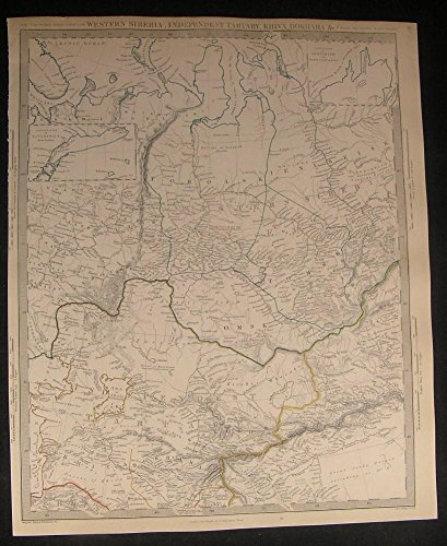 west-siberia-independent-tartary-sea-aral-c1845-antique-engraved-hand-color-map