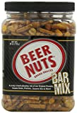 Beer Nuts Brand Snacks, Bar Mix, 26oz Container (Pack of 2)