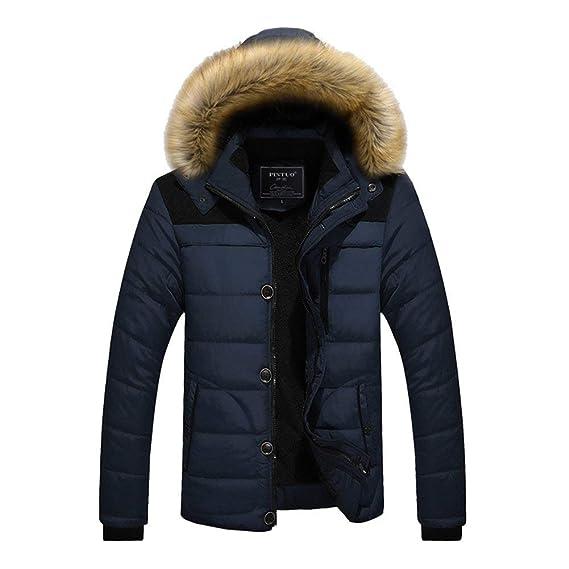 Manteaux D'hiver Bleu Pour Homme