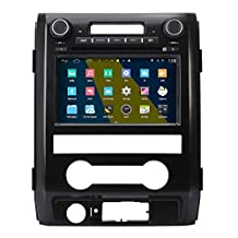 Koolertron 8 inch HD Android 4.4.4 Car DVD Player GPS Navigation Stereo For 2009 2010 2011 2012 Ford F150