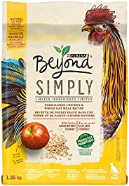 Beyond Simply Natural Dry Cat Food, White Meat Chicken & Whole Oat Meal 1.36 kg