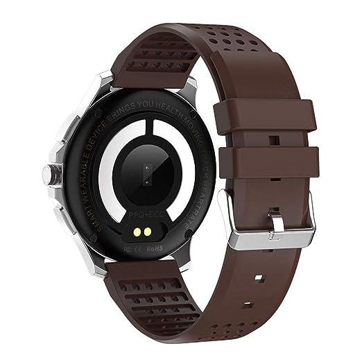 Montre Connectée Homme Montres-Bracelets pour Hommes Montre Affichage Fitness Trackers Moniteur de Pression Artificielle Écran Couleur ECG et PPG IP67 ...