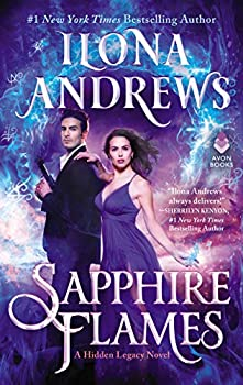 Sapphire Flames by Ilona Andrews science fiction and fantasy book and audiobook reviews