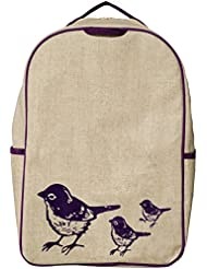 SoYoung Grade School Backpack - Purple Birds
