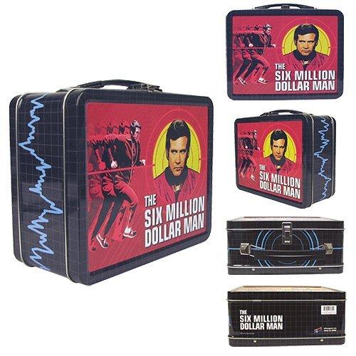 Six Million Dollar Man Tin Tote – Lunch Box