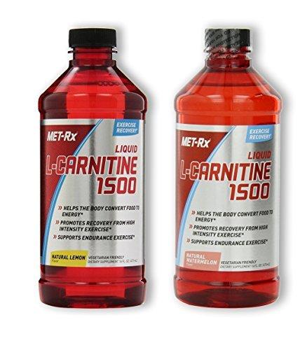 MET-Rx L-Carnitine 1500 - Lemon / Watermelon (1 of each)