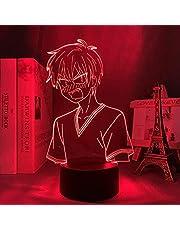 3D Led Illusion Lamp Night Light Usb Anime Optical Manga Fruits Basket Kyo Sohma Figure Room Decor Bithday Bedroom-7 colors touch