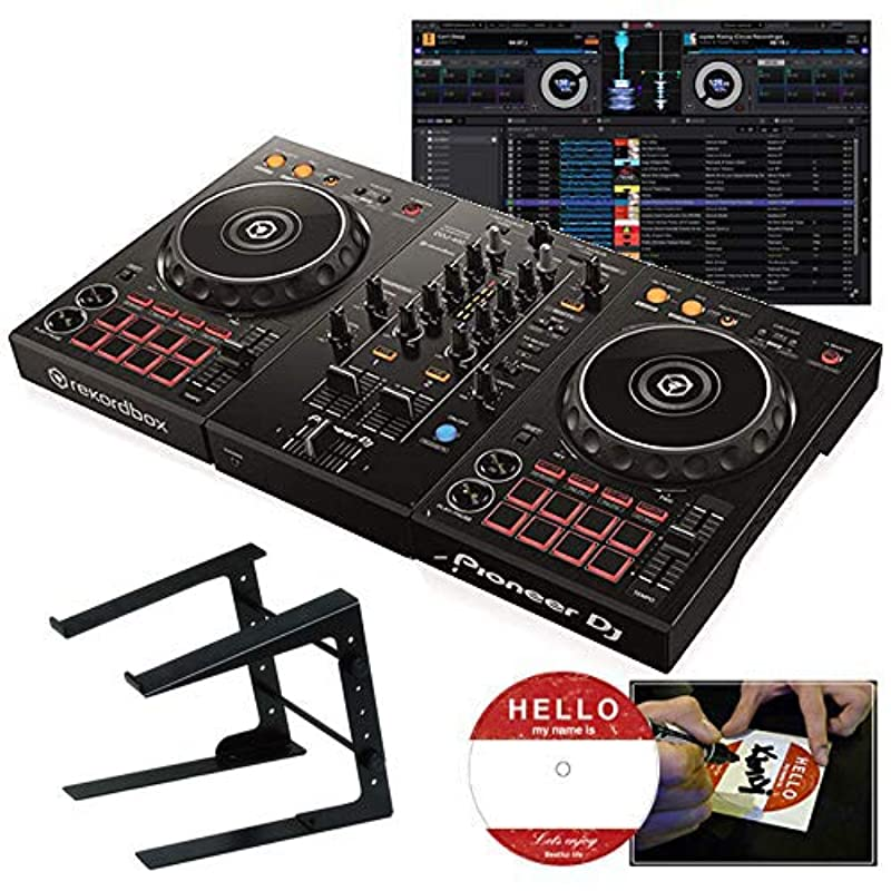 Pioneer DJ DDJ-400 + PC스탠드 파이오니아