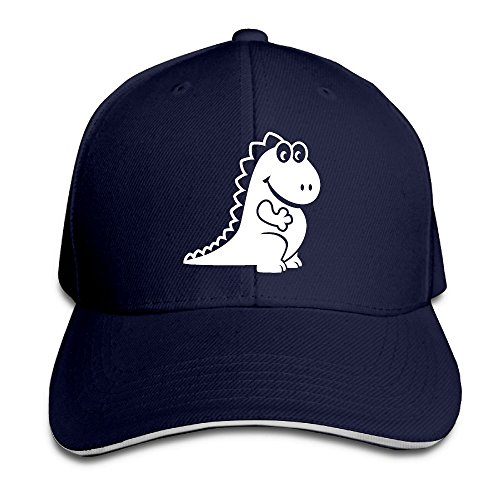 LaLago Cute Cute Dragon New Design Unisex Sandwich Cap Navy