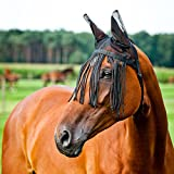 Challenger Equine Horse Fly Mask Summer Spring Airflow Mesh UV Mosquitoes 73238F