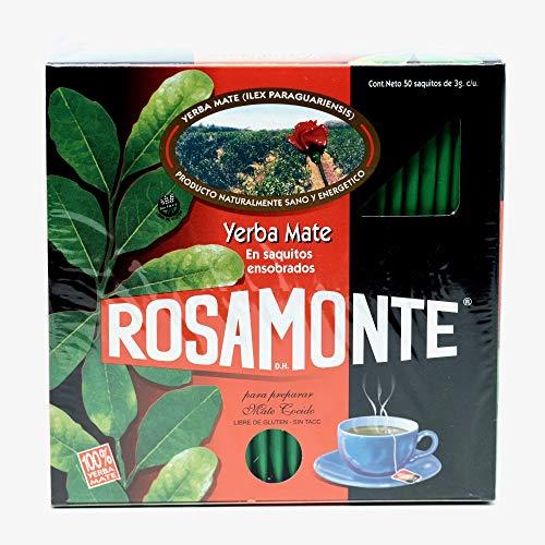 Yerba Mate Rosamonte bolsitas de te x 50