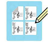 Oboe Fingering and Staff Stickers (120 handy stickers) Great for...