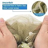 AmazerBath Shower Loofah Sponges, 60g exfoliating