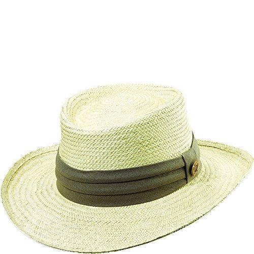 Tommy Bahama Men's Palm Fiber Gambler Hat, Taupe, Large/Extra Large