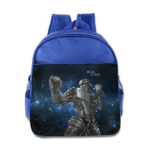 [MEGGE Real Steel New Design Backpack RoyalBlue] (Hobo Costume For Toddler)