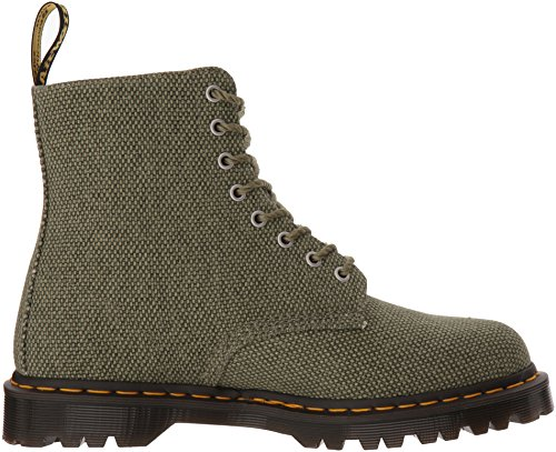 Dr Pascal Fashion Olive Olive Dr Martens Military Martens Boot Canvas PwUPqrR