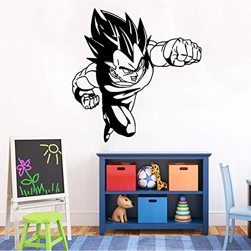 tzxdbh Vegeta Dragon Ball Z DBZ Anime Poster Tatuajes de Pared ...