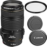 Canon EF 70-300mm f/4-5.6 IS USM Lens for Canon EOS SLR Cameras (Certified Refurbished)