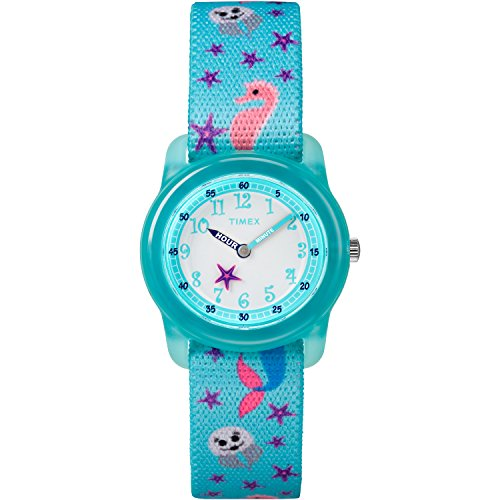 timex-girls-tw7c13700-time-machines-analog-teal-sea-elastic-fabric-strap-watch