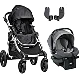 Baby Jogger 2016 City Select Travel System - Onyx Steel Grey