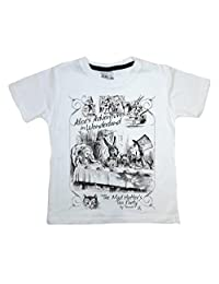 Dirty Fingers, The Mad Hatter's Tea Party, Alice in Wonderland, Child's T-shirt