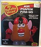 Mr Potato Head Mini Pumpkin Push-ins Devil Halloween Decorate Your Pumpkin