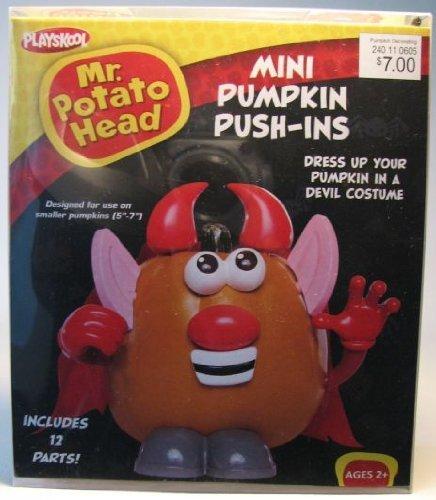 Mr Potato Head Mini Pumpkin Push-ins Devil Halloween Decorate Your (Mr Potato Head Halloween Costume)