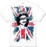 FEA Men's Sex Pistols Short Sleeve T-Shirt,White,Large