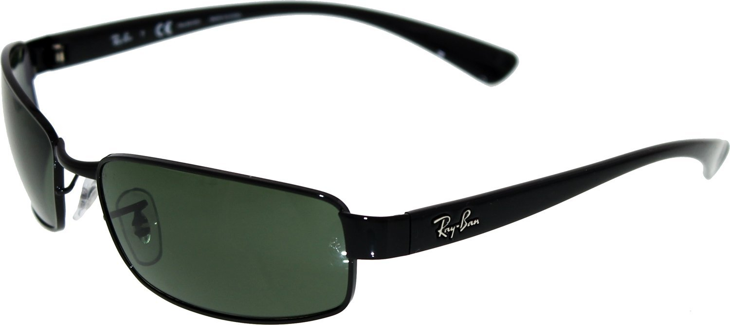 f4059bacdc Ray-Ban Sunglasses - RB3364   Frame  Black Lens  Crystal Green Polarized  (59mm)  Amazon.ca  Sports   Outdoors