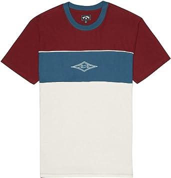 BILLABONG™ - Camiseta - Hombre - XL - Rojo: Amazon.es: Ropa y accesorios