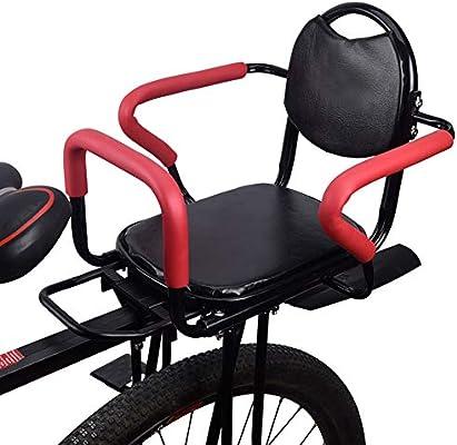 LHLCG Asiento de Bicicleta para niños, Plegable y Ultraligero ...