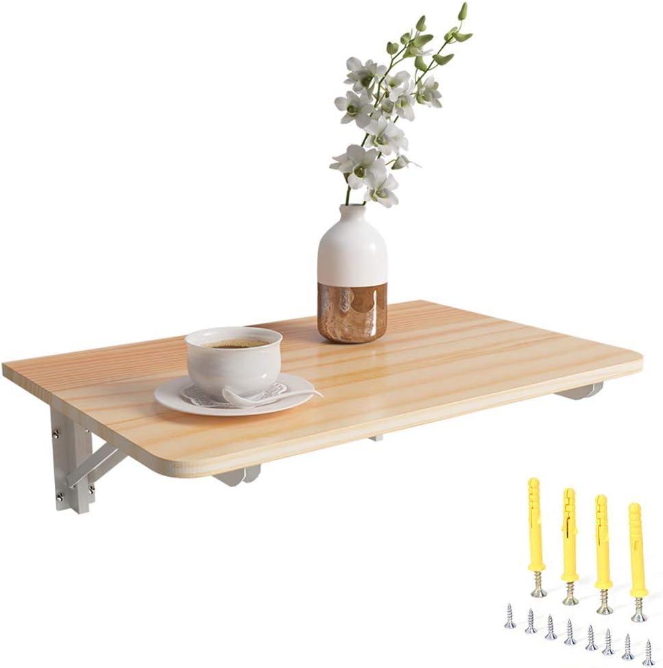AOLI 2pcs del triángulo del metal plegable soporte de repisa, de montaje en pared - Heavy Duty Fold Tabla para fregaderos de Undermount, microondas y otros muebles, montado en la pared flotante plega