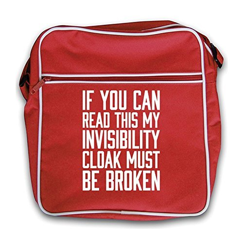 Read black Be Invisibility Can Retro Red Broken Flight Bag My If This You Cloak Must EcqxWxp1OR
